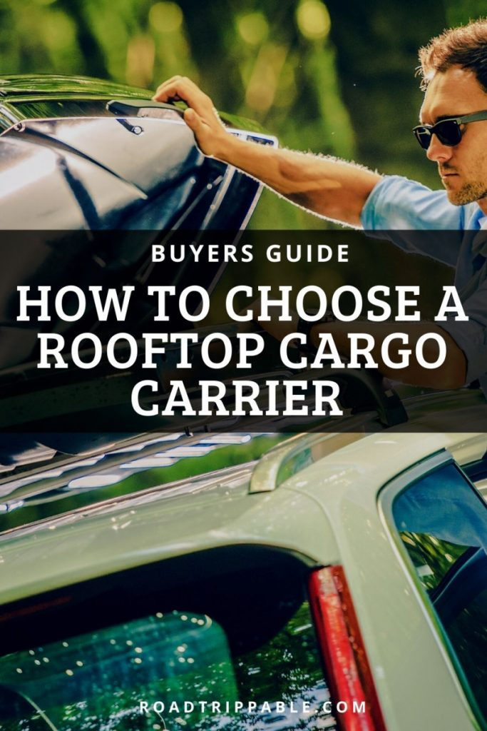 How to choose a rooftop carrier - buyers guide